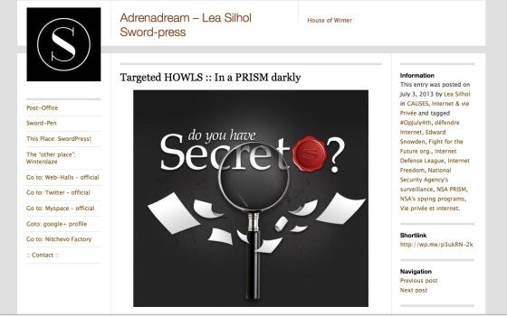 @ Adrenadream blog - 3/4 juillet